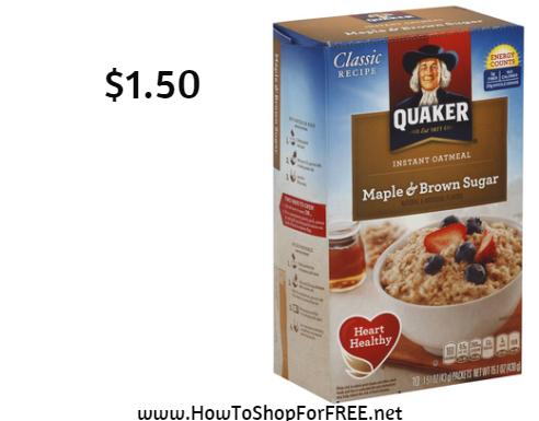 quaker oat1.50