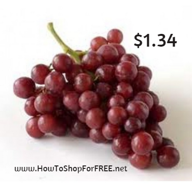 red grapes1.34