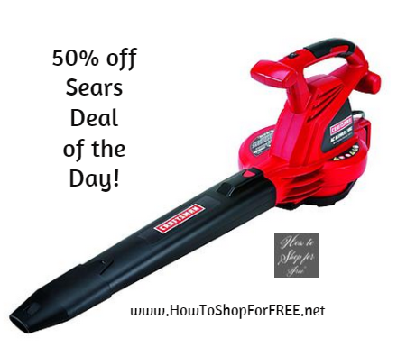 Sears Deal of the Day! Subscribe to get a hot new offer everyday! Sears Deal of the Day! Subscribe to get a hot new offer everyday! Private User added this to Shop Your Way from: educational-gave.ml a few years ago (?) (1 Ratings) More. Help Me Choose Recommend to a friend Report This.