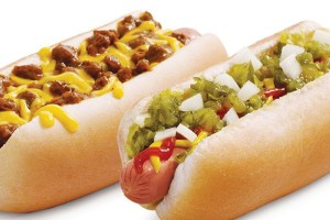 Sonic $1.00 Hot Dogs on 2/16