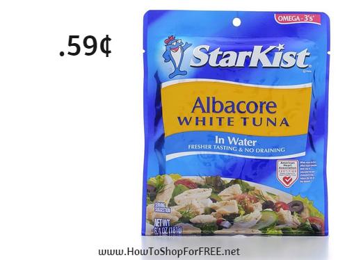 starkist tuna .59