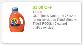 $3 tide