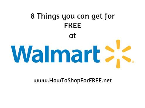 8 things free at walmart