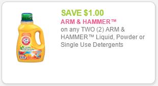 A&H $1off 2 det coupon