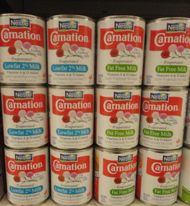 Carnation Evap Milk