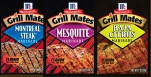 Mccormic grill mates
