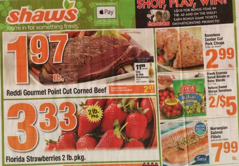 Shaws Ad Scan