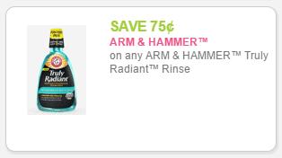 arm & hammer rince q