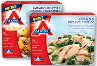 $1 Atkins Frozen Entrees @ Publix, thru 1/18