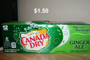 canada dry 1pk 1.50