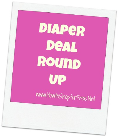 diaper deal round up