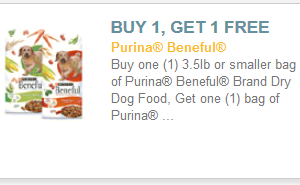 Beneful NEW Printables (including BOGO dry dog food)