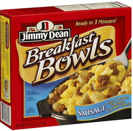 jimmy dean breakfast bowl