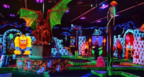 graphic regarding Monster Mini Golf Coupons Printable called Monster Mini Golfing Coupon Provide How towards Keep For Free of charge with