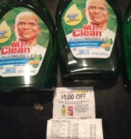 Mr Clean 48 Cents at Target