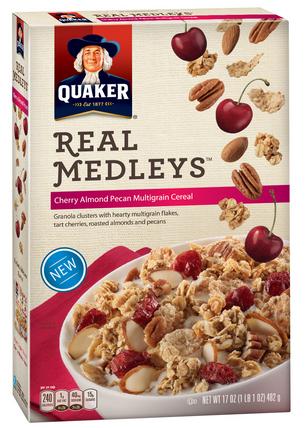 quaker real med cereal