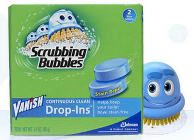 scrubbing bubble vanish drop in