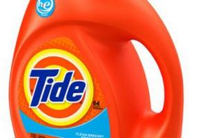 Tide100 oz $6.49 at Target