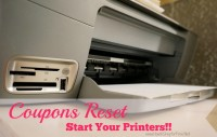 Start your Printers Coupons Reset!!