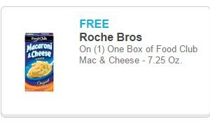 Free Box of Mac and Cheese at Roche Bros!