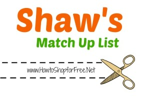 Shaw's – Sept 30 – Oct 6
