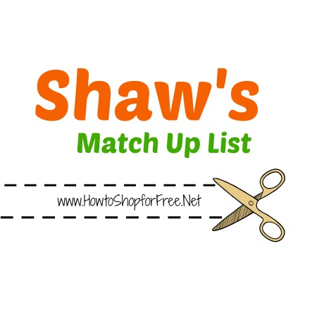 Shaw's Match Up List