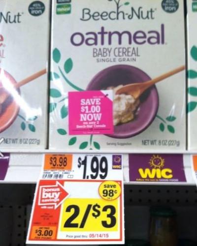 beechnut cereal
