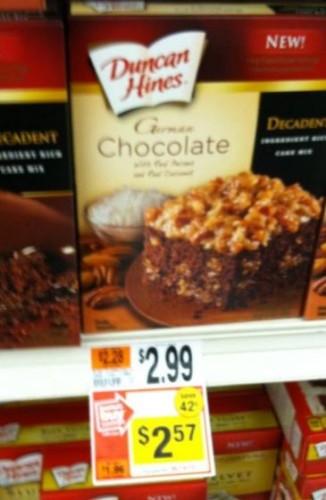 decadent cake mix