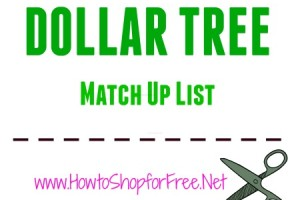 Dollar Tree – July 26 – August 1