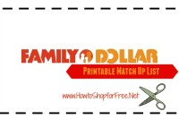 Family Dollar Coupon Match Ups – Oct 15 – Oct 21
