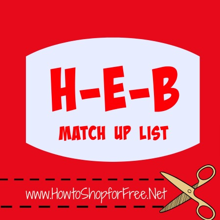 heb match up list