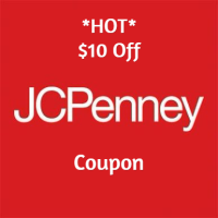 Free $10 off JCPenney Coupon Giveaway (In-Stores) – FREE ITEM