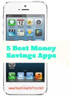5 Best Money Saving Apps