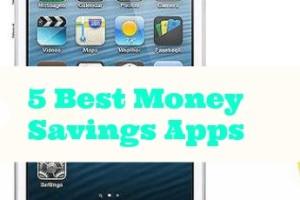 5 Best Money Saving Apps