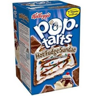 pop tart chocolate sunday