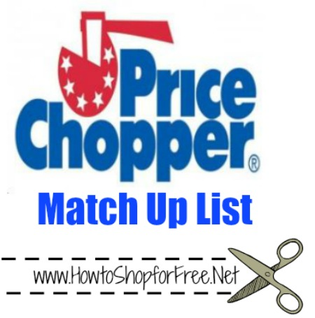 price chopper match up list