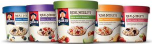 quaker real med cups
