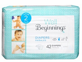well begginnings diapers
