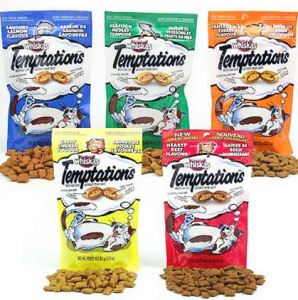 whiskas tempations