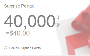 40 surprise points