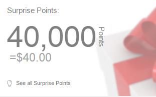 40 surprise points