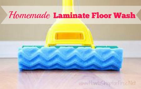 Homemade Laminate Floor Wash