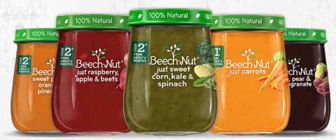 beechnut baby food jars