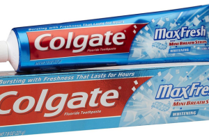 Colgate Max Fresh Toothpaste for change!
