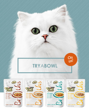 fancy feast try a bowl