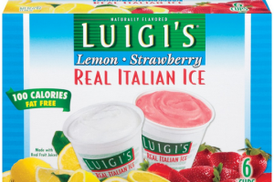 WOW! Luigi's Italian Ice FREE at Stop & Shop 5/26-6/1!!