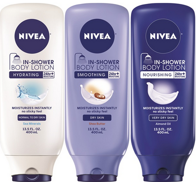 nievia shower lotion