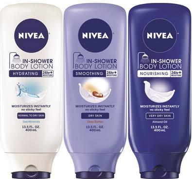 nievia shower lotion