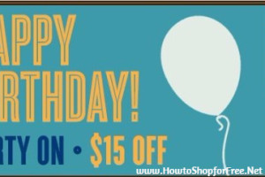 FREE $15.00 Birthday Money at Not Your Average Joe's