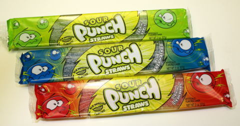 sour punch straw